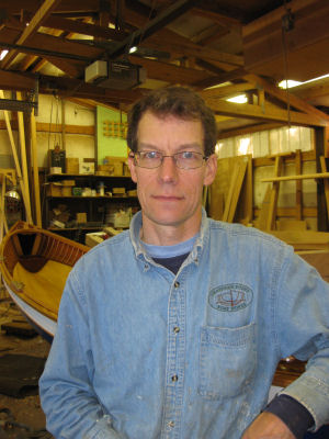 Tom Regan - Boatbuilder